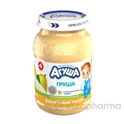 """Пюре фруктовое """"Агуша"""" 0,2кг Груша"""