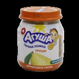 Агуша пюре груша фруктовое детское 115 г