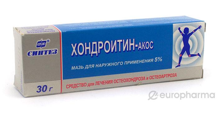 Хондроитин - АКОС 5%, 30 гр, мазь