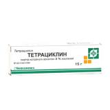 Тетрациклиновая 3% 15 г мазь
