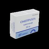 Омепразол- АКОС 20 мг № 30 капс  покр кишечнораст оболочкой