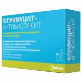 Флуимуцил-антибиотик ИТ 500 мг № 3 лиофилизат д/пригот р-ра