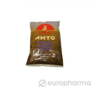 Отруби Лито ржаные хрустящие бородинские, 200 гр, уп.