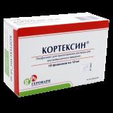 Кортексин 10 мг № 10 лиофилизат д/пригот р-ра