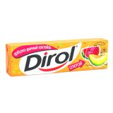 "Dirol жевательная резинка без сахара ""Арбузно-дынный коктейль"" 13,6 гр"
