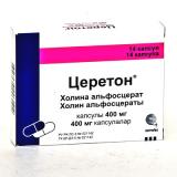 Церетон 400 мг, №14, капс.