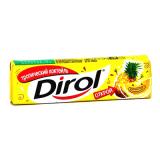 """Dirol жевательная резинка без сахара """"Тропический коктейль"""" 13,6 г"""