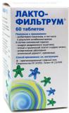Лактофильтрум 50 мг № 60 табл
