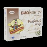 Рыбий жир №100, капс., с экстр. валерианы и пустырника