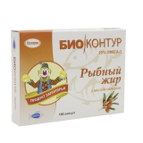Рыбий жир №100, капс., облепиха