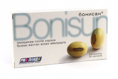 Бонисан 0,46 г, № 24, капс., для снижения симптомов климакса
