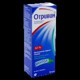 Отривин Ментол 0,1% 10 мл спрей назальный
