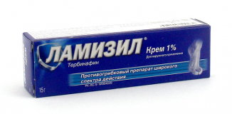 Ламизил 1%, 15 гр, крем