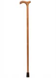 """Трость деревянная  с деревянной ручкой """"Конус"""""""