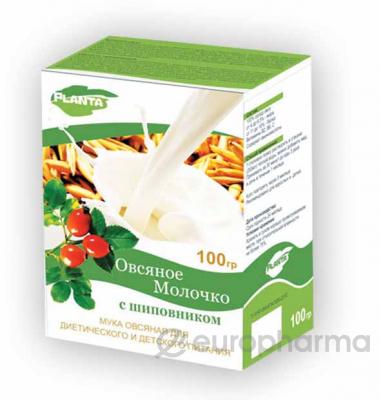 Овсяное молочко с шиповником 100 гр, PLANTA