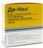 Де-Нол 120 мг, № 112, табл.