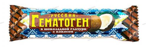 Гематоген кокос в шоколаде 40 гр