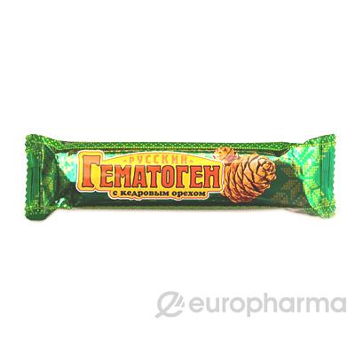 Гематоген кедровый орех в шоколаде 40 гр