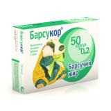 Барсучий жир Барсукор капсулы 0,2г № 50