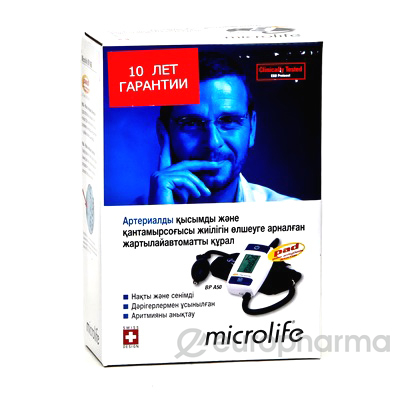 Тонометр Microlife полуавтоматический на плечо BP A50