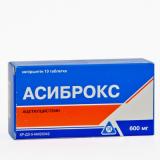 Асиброкс 600 мг, №10, табл.