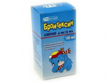 Бромгексин 4мг/5мл, 100 мл, сироп