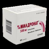 Милдронат 500 мг № 60 капс