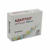Адаптол 300 мг № 20 капс