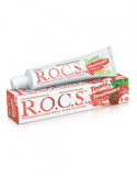 Rocs зубная паста Teens земляника 74 гр