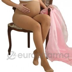 Колготки мед.эласт.компр.для беременных,раз.4,беж.(0405)