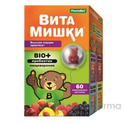ВитаМишки BIO+ №60 жев.пастилки
