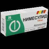 Нимесулид 100 мг № 20 табл