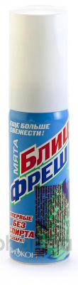 Биокон Освежитель для рта Блиц-фреш мятный 25 мл