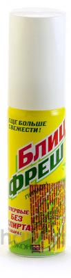Биокон Освежитель для рта Блиц-фреш лимон 25 мл