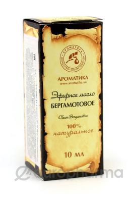 Ароматика масло эфирное, Бергамот 10 мл