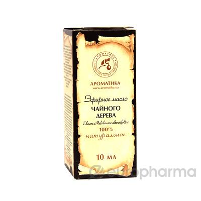 Ароматика масло эфирное, Чайное дерево 10 мл