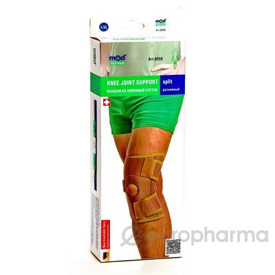 Бандаж на коленный сустав разъемный (неопреновый) МеdTextile артикул 6058 L/XL