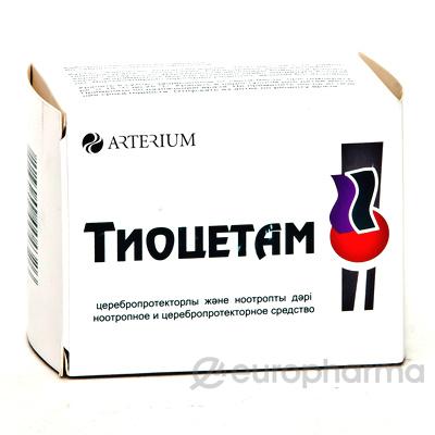 Тиоцетам №60, табл.