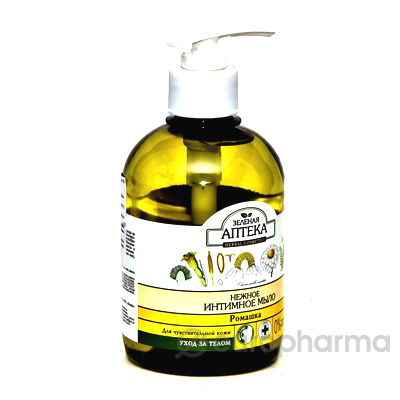 Зеленая аптека мыло ромашка интимное 370 мл