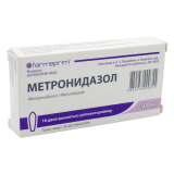 Метронидазол 500 мг № 10 вагин. суппозитории