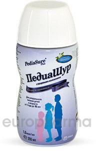 ПедиаШур 1.5 с пищ.волокнами ваниль с 1 года до 10 лет 200 мл