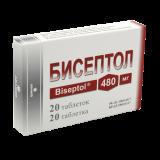 Бисептол 480 мг № 20 табл.