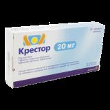 Крестор 20 мг № 28 табл покрытые оболочкой