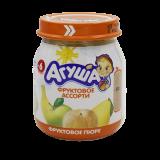 Агуша пюре фруктовое ассорти детское 115 г
