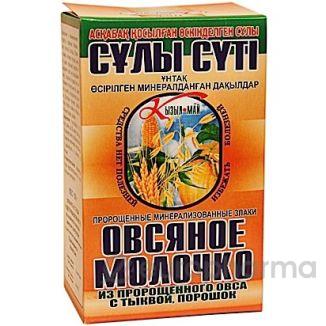 Овсяное молочко с тыквой 150 гр, пор.