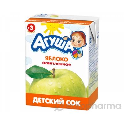 Агуша сок детский  0,2л Яблоко