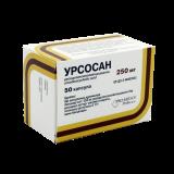 Урсосан 250 мг № 50 капс