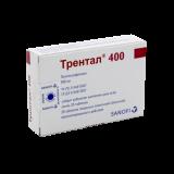 Трентал 400 мг № 20 табл