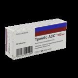 Тромбо АСС 100 мг № 30 табл покр кишечнораст оболочкой