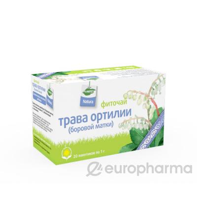 Боровая матка (ортилия) 1 гр, №20, фито чай, Planta Natura